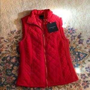 Cynthia Rowley Red Vest